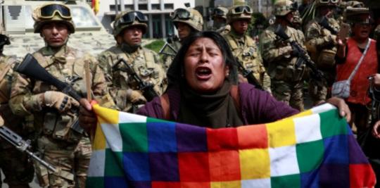 Bolívia golpe